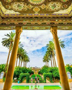عکس/ باغی دیدنی در شیراز