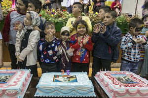 عکس/ عیدانه کودکان کورههای آجرپزی