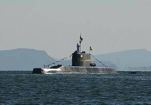 اولین حضور زیردریایی فاتح و ناوشکن سهند در رزمایش «ولایت۹۷»