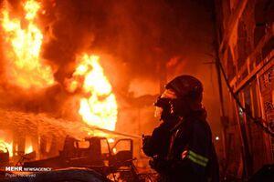 عکس/ سوختن 70 بنگلادشی در آتش