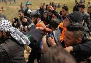 یک شهید و ۴۱ زخمی در چهل و هشتمین راهپیمایی جمعه بازگشت