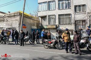 بازسازی صحنه جرم در یکی از محله های تهران +عکس