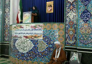 عکس/ امام جمعه بیله سوار به وعدهاش عمل کرد