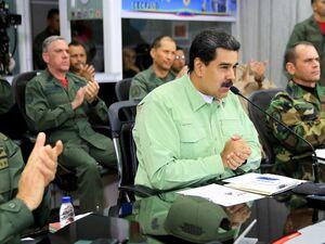مادورو دستور بستن مرز برزیل صادرکرد