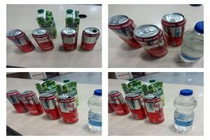 کشف مشروبات الکلی از داخل آب میوه +عکس