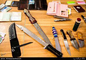 عکس/ سلاح سارقان منازل تهران