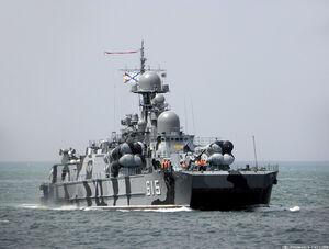 فیلم/ آزمایش موشکی روسیه در دریای سیاه