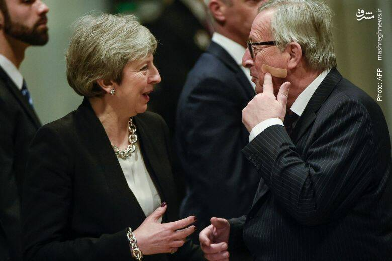 ژان کلود یانکر با ظاهر جدیدش مذاکرات جدیدی را با ترزا می برای اصلاح مفاد برگزیت آغاز میکند. نخستوزیر بریتانیا آن قدر تحت فشار است که از هماکنون اعلام کرده تا چند ماه دیگر کنار خواهد رفت.