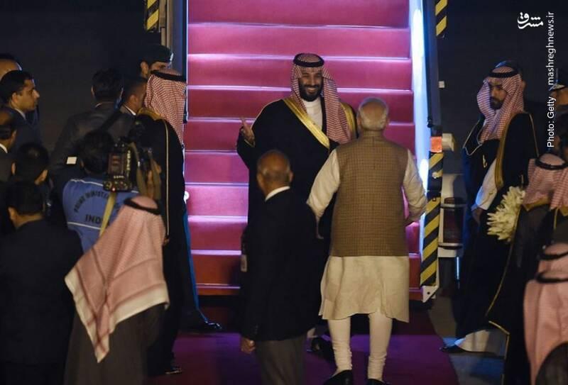 استقبال از محمد بن سلمان در مصر پس از سفر وی به پاکستان