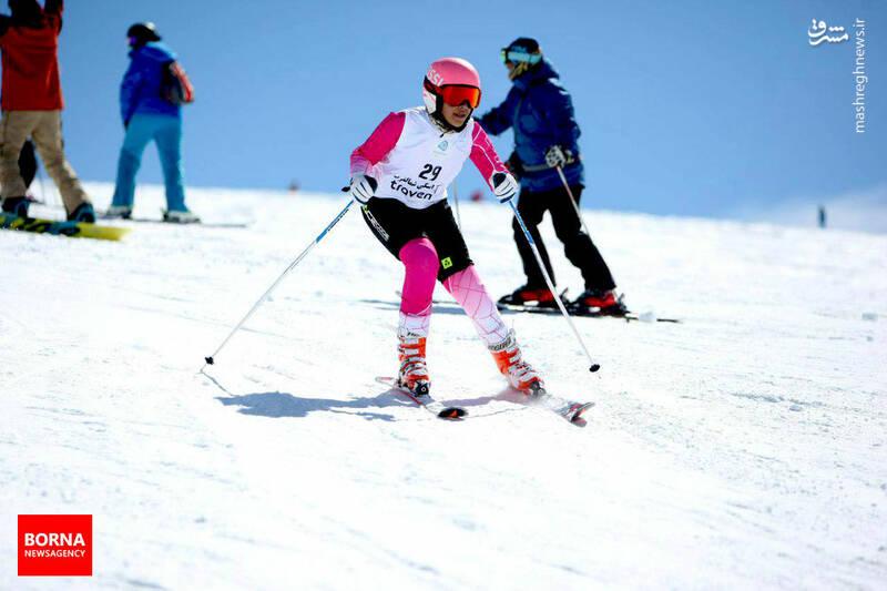 ششمین دوره اسکی قهرمانی تهران در توچال