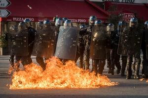 عکس/  فضای امنیتی پاریس در پانزدهمین شنبه اعتراض