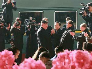عکس/ رهبر کره شمالی با قطار راهی ویتنام شد