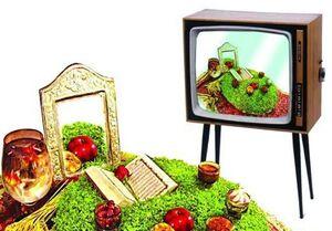 حال و هوای تحویل سال در تلویزیون +عکس