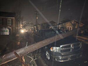 خسارت طوفان مهیب در کنتاکی آمریکا
