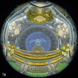 عکس/ نمایی زیبا از حرم امامین عسکرین(ع)