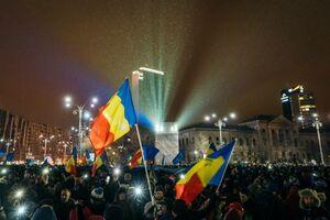 تظاهرات هزاران نفری در رومانی