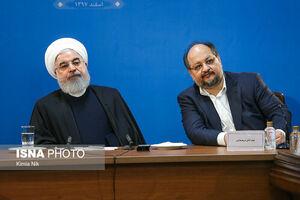 عکس/ حضور روحانی در وزارت کار