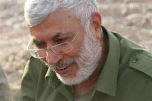 فیلم/ نایب رئیس الحشد الشعبی در مناطق سیلزده