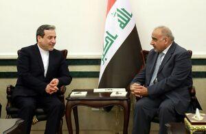 دیدار عراقچی با نخست وزیر عراق