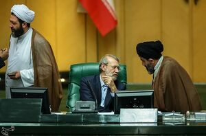 لاریجانی: هیچ مدیر بازنشستهای در مجلس فعالیت ندارد