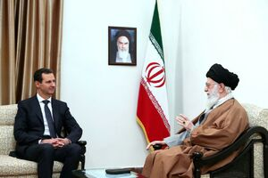 رهبر انقلاب و بشار اسد