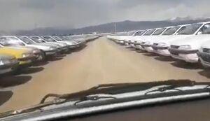 """وجود 65 هزار خودرو """"ناقص"""" در ایران خودرو!"""