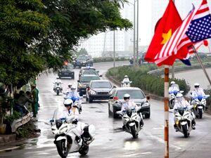 کاروان اسکورت «اون» در ویتنام