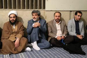 حاج مهدی سماواتی در دیدار با رهبرانقلاب