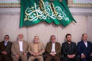 منصور ارضی در دیدار با رهبرانقلاب