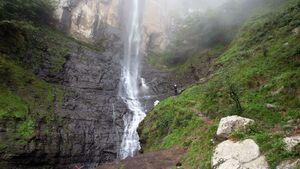 عکس/ بلندترین آبشار ایران
