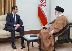 بشار اسد و رهبر انقلاب