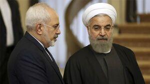 پیام ظریف پس از رد استعفایش +عکس