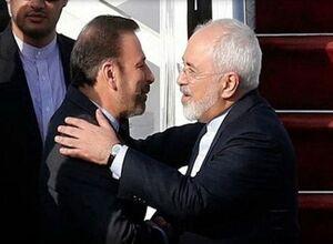 واکنش واعظی به رد استعفای ظریف +عکس