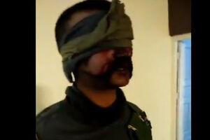 فیلم/ خلبان هندی اسیر شده در پاکستان