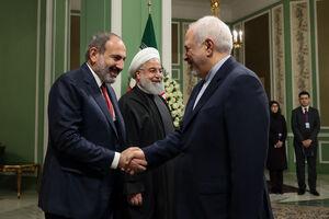 عکس/ دیدار نخست وزیر ارمنستان با روحانی