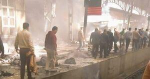 فیلم/ لحظه وحشتناک انفجار در قاهره