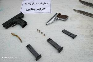 عکس/ سلاح گرم سارقین تهران