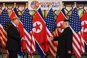 فیلم/ دیدار دونالد ترامپ و کیم جونگ اون