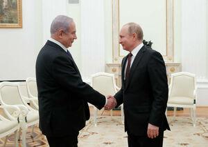 عکس/ دیدار نتانیاهو با پوتین