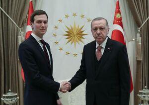 عکس/ دیدار داماد ترامپ با اردوغان