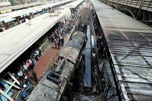 حادثه قطار در مصر