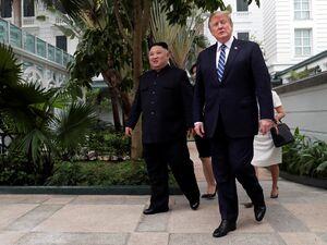 عکس/ پایان دیدار «ترامپ» و «اون»