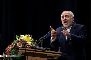 سخنرانی ظریف در دانشگاه علوم پزشکی تهران