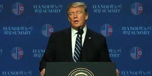 عاقبت مذاکره کرهشمالی با آمریکا/ ترامپ: کیم قصد خلع سلاح اتمی داشت؛ تحریمهای کرهشمالی را لغو نمیکنیم