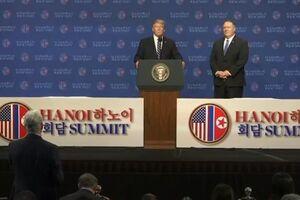 ترامپ: آمریکا نمیتواند تحریمهای کره شمالی را لغو کند