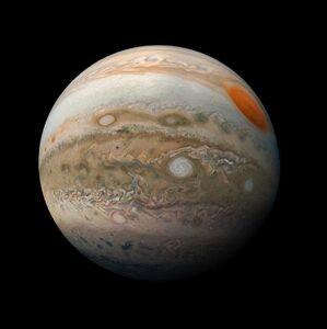 عکس جدید از سیاره مشتری