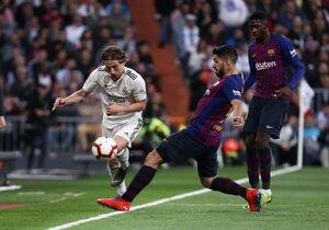 فیلم/ خلاصه دیدار رئال مادرید 0-1 بارسلونا