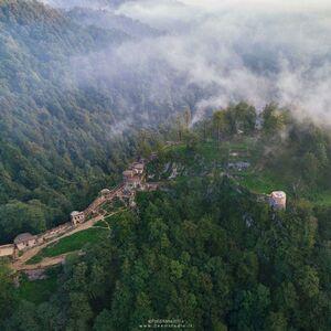 تصویری متفاوت از قلعه رودخان