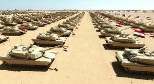 فیلم/ واکنش ارتش مصر به مانور کشتیهای جنگی ترکیه