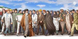 برای تحقق بیانیه گام دوم انقلاب پیمان برادری و جوانمردی بستهایم+ اسامی